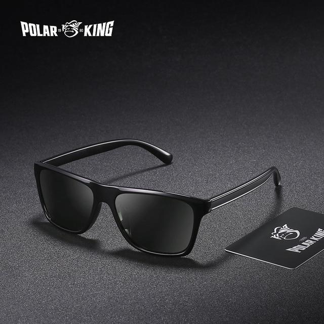c0ffc137342 POLARKING Brand Retro Plastic Sun Glasses For Men Travel Oculos de sol Men s  Polarized Sunglasses For Driving Fishing Eyewear