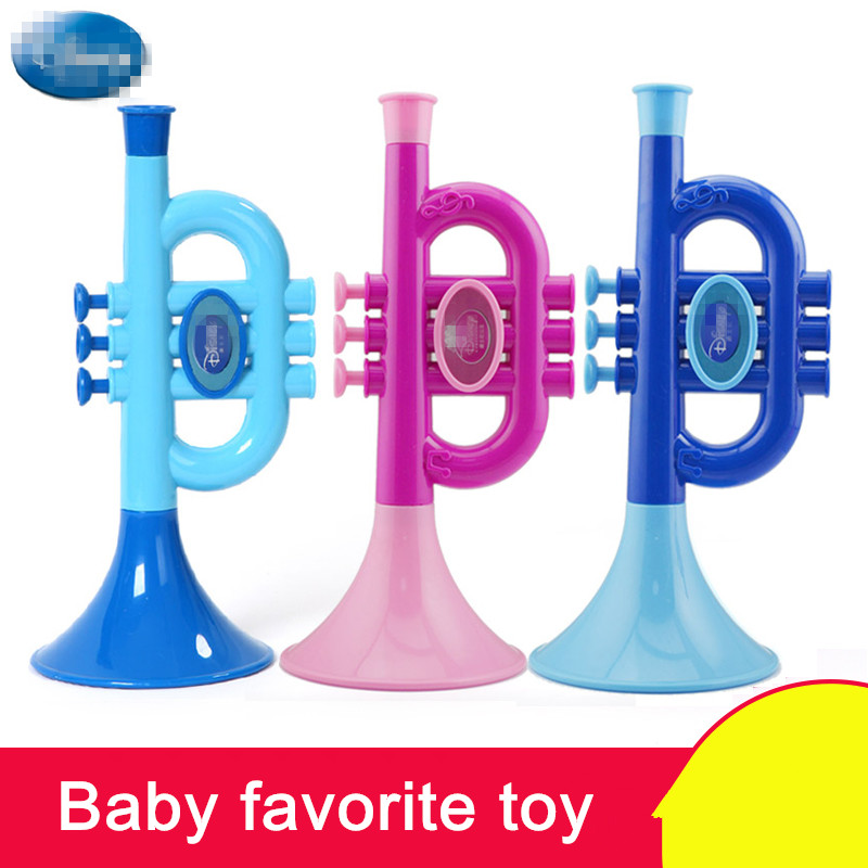 24cm simulation toys children play musical instruments beginner 24cm simulation toys children play musical instruments beginner trumpet blowing music baby toy trumpet over 3 years old in toy musical instrument from toys sciox Choice Image