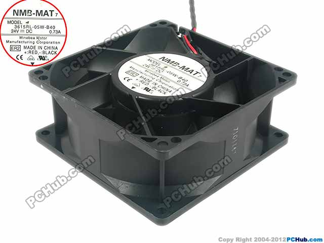 Free Shipping For NMB 3615RL-05W-B40, ER2 DC 24V 0.73A 2-wire 90x90x38mm Server Square fan genuine spare parts abb acs800 90 90 38mm 24v 0 32a 2 line waterproof fan pq1 3615 kl 05w b50