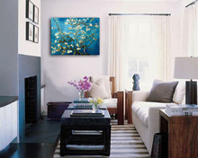 Blossoming Almond Tree Painting