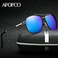 AFOFOO Brand Men's Polarized Sunglasses Metal Men Coating Mirror Driving Sun glasses Male UV400 Shades Goggle Eyewear