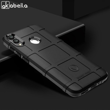 AKABEILA For Huawei Mate 20 Pro Lite Case Rugged Armor Soft Back Cover Honor 8C 8X Max Phone Bumper Y9 2019