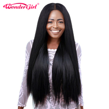 Straight 360 Lace Frontal Wig With Baby Hair 150% Density Pre Plucked 360 Lace Front Human Hair Wigs Wonder girl Non Remy