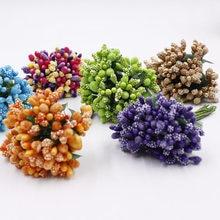 1pcs12 artificial buds stamens berries new home improvement DIY scrapbook decoration simulation flowers
