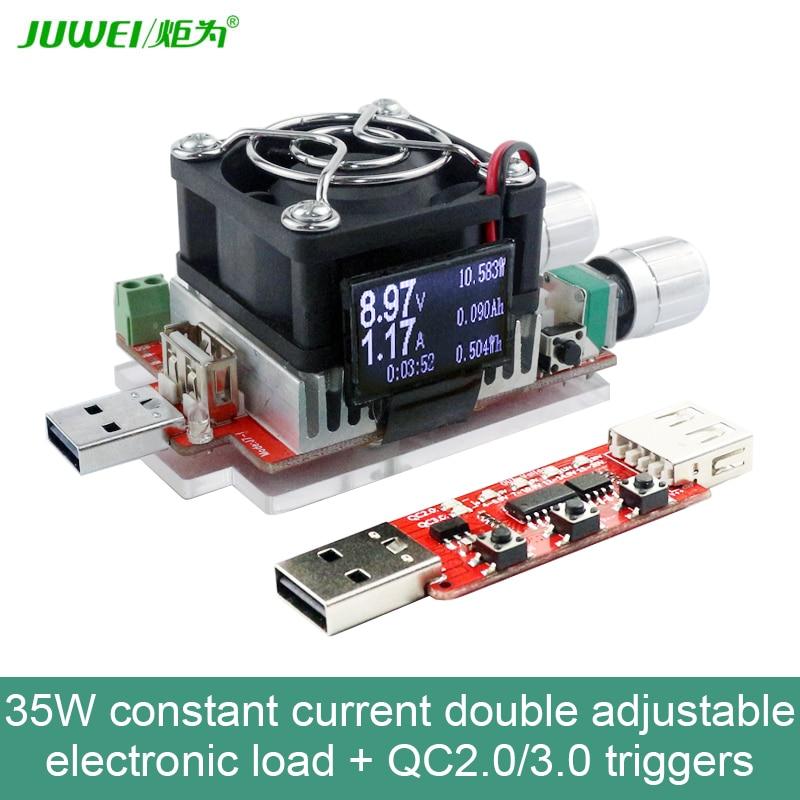 35W de corriente constante de carga electrónica doble ajustable + - Instrumentos de medición - foto 3