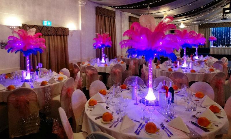 Wedding Centerpiece Light Base
