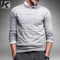 Бесплатная доставка человек моды тонкий о-образным вырезом пуловер свитер 8855