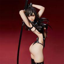 25CM Sexy PVC Anime Gantz Shimohira Reika Sword Xshotgun Version Collectible SM Girl Model Toy Brinquedos