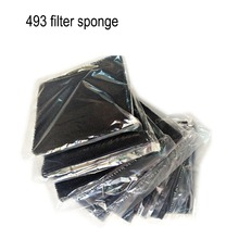 5/10pcs High Quality Black Activated Carbon Filter Sponge 13*13*1cm  For 493 Solder Smoke Absorber ESD Fume Extractor