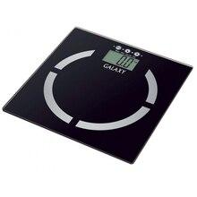 Весы напольные Galaxy GL 4850 (Предел 180 кг, шаг измерений 100 г, измерение уровня жира и воды в организме, мышечной и костной массы, ЖК-дисплей, стекло, автовыключение)