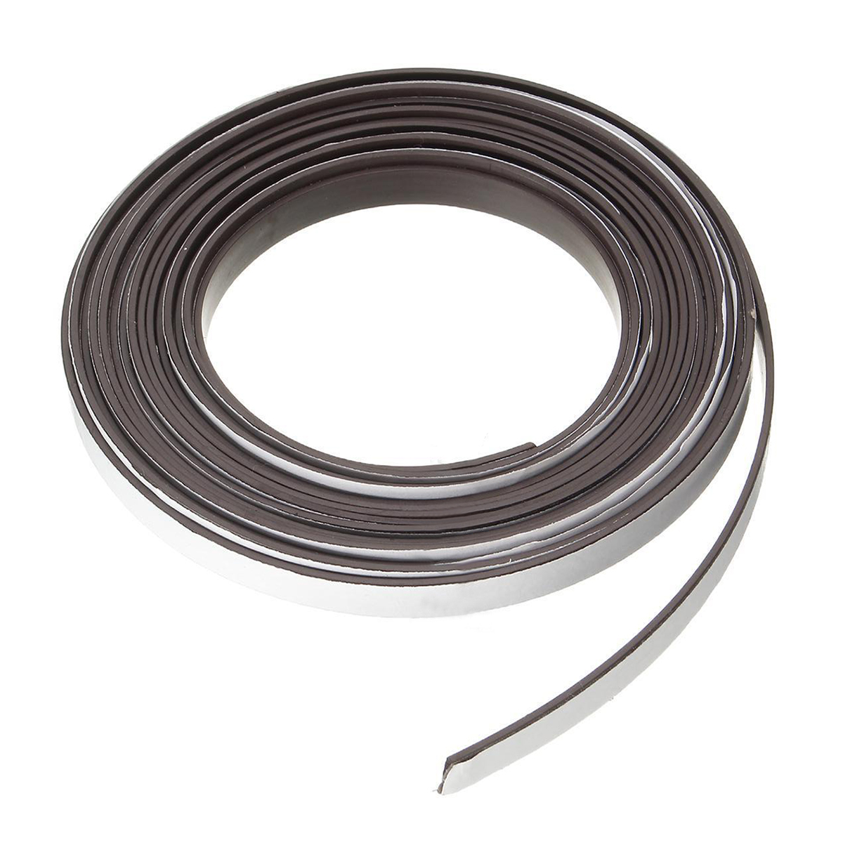 New 5M Rubber Magnetic Stripe Self Adhesive Flexible Magnet DIY ...