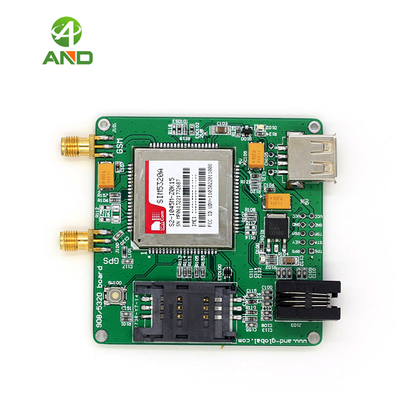 SIM5320A GSM GPRS GPS Module USA 3G 3 Channel Relay Board for Raspberry Pi 3