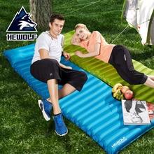 Hewolf Camping Tourist Mat Air Mattress Ultralight Inflatable Beach Mattress Folding Outdoor Picnic Mat Airbed Sleeping Pad цена 2017