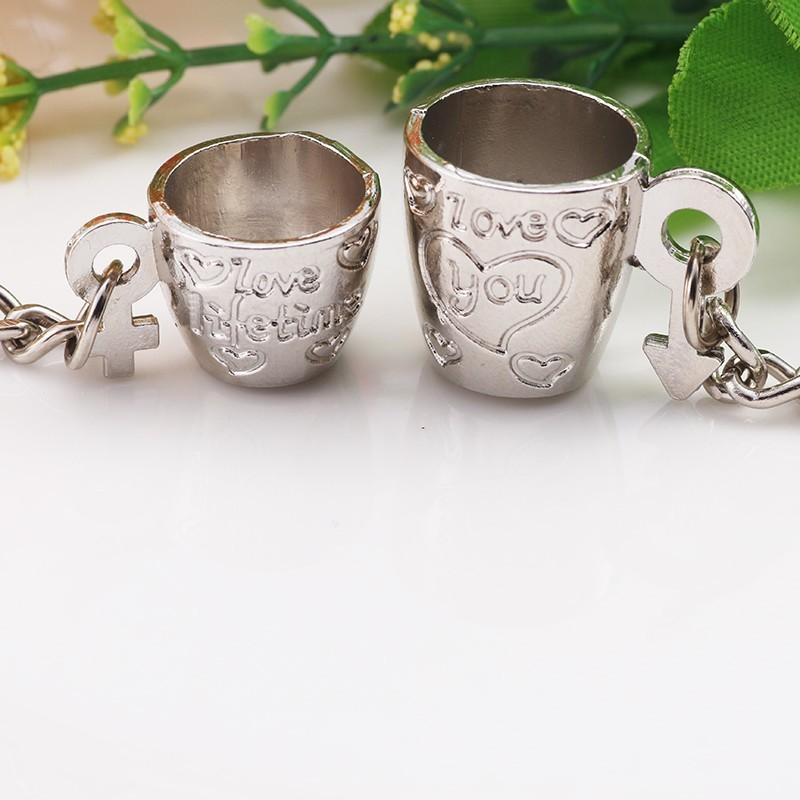 1-Pair-Trendy-Couple-Keychain-3D-Silver-Coffee-Cup-Key-Chain-Lovers-Carved-Love-Heart-Key (2)