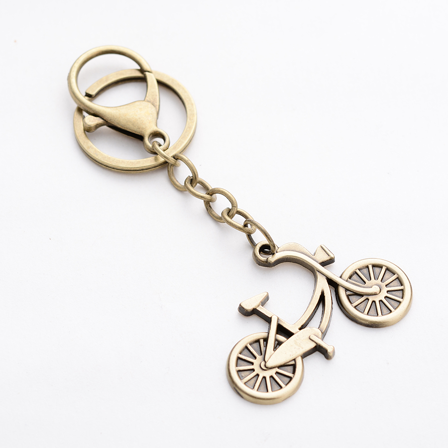 Particular Punk Vintage Bicycle Shape Keychain Bike Key Chain Ring Her Formen Women Bag Pendant Car Keyring Gift Key Chains Fromjewelry Punk Vintage Bicycle Shape Keychain Bike Key Chain Ring