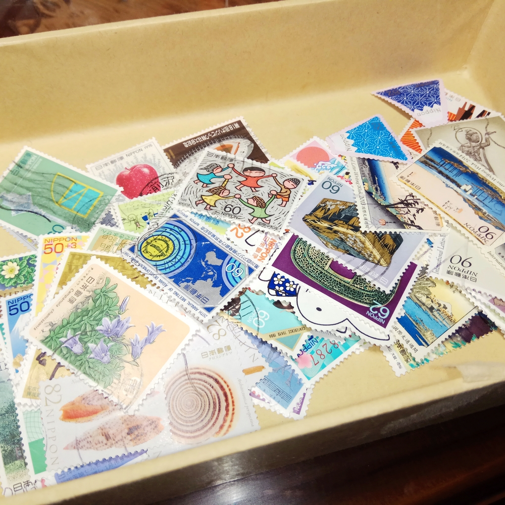 20/50Pcs Japan Post Stamps All Different Random Stamp Used Post Marked Postage Stamps for Collecting(China)