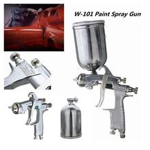 цена на W-101 Spray Gun w101 HVLP Manual Paint Gun Gravity Type 0.8/1.0/1.3/1.5/1.8mm 134G 400ml Car Coating Painting