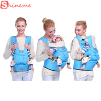 New 0 36m Infant Toddler Economic Baby Carrier Sling Backpack Bag Gear with Hipseat Wrap Newborn Cover Coat for Babies Stroller