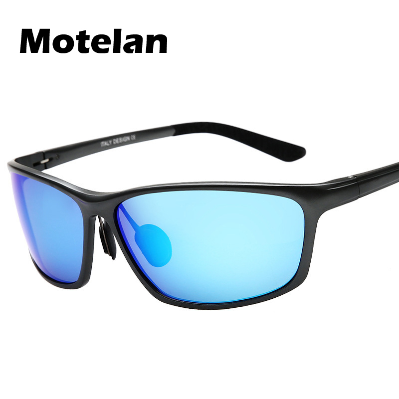 2017 Nouveau Mode Hommes Polarisées lunettes de Soleil En Aluminium de Conduite Polarisé Eyewear Lunettes Miroir UV400 Protection Lunettes de Soleil 1179