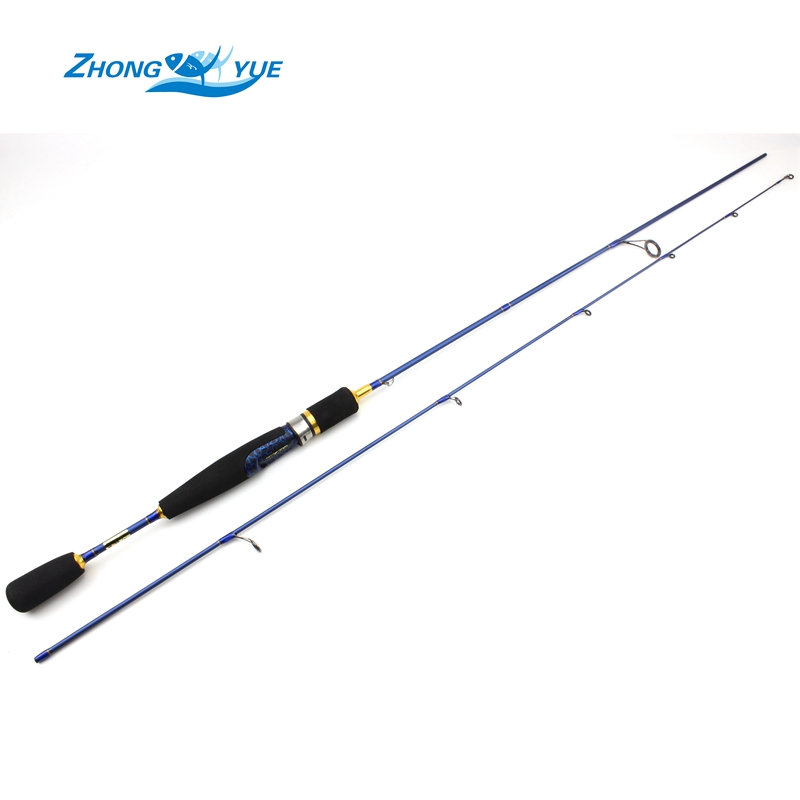 Cheap ul spinning rod 2 6g lure weight ultralight spinning for Light fishing rods