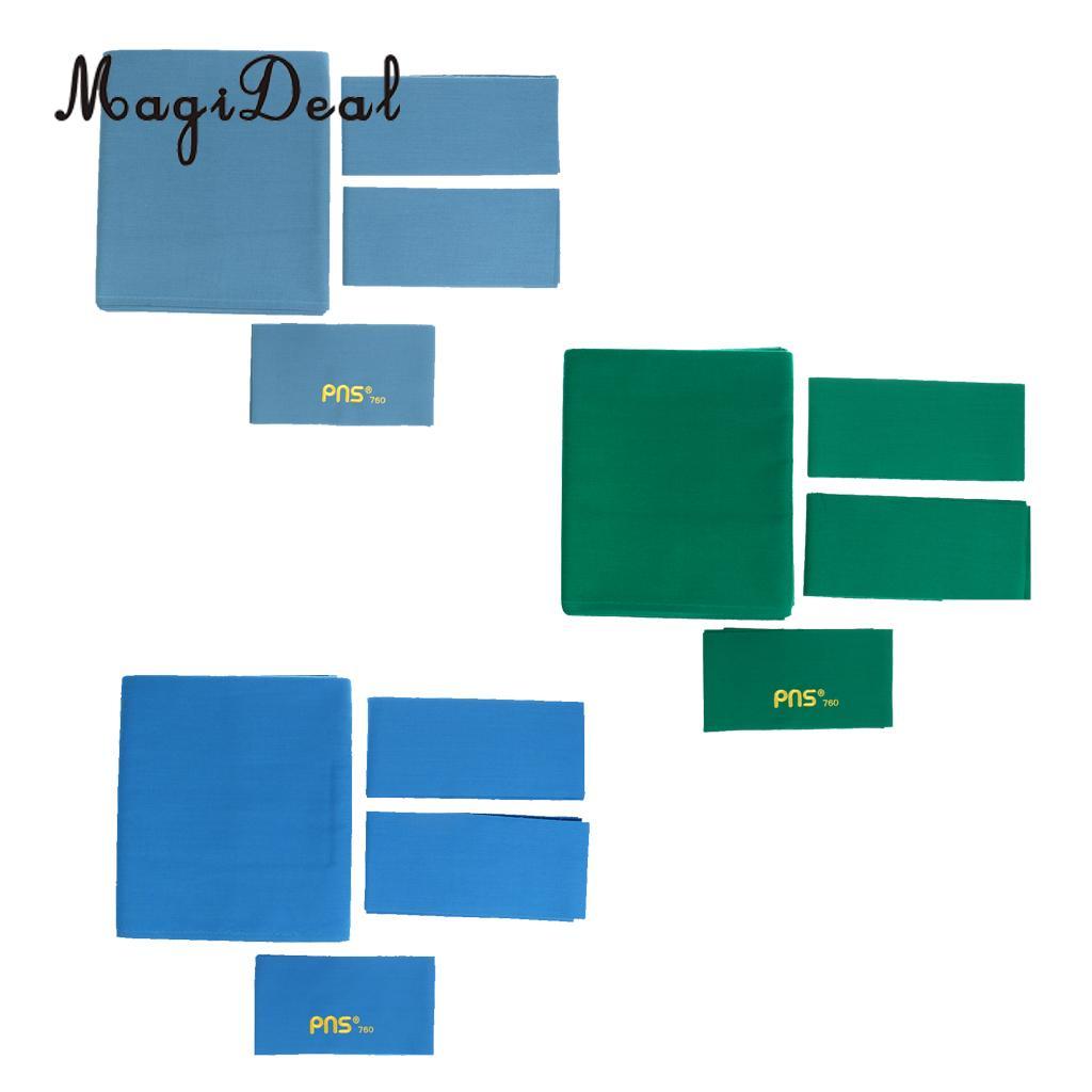 MagiDeal универсальная водостойкая ткань PNS760 камвольная бильярдный стол Войлок бильярдная ткань для 9ft Настольная Крышка Бильярд Acce синий/зеле