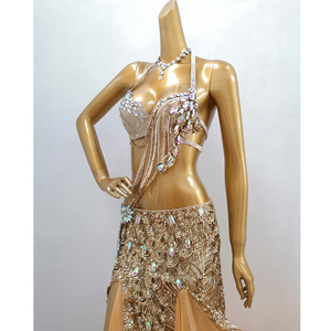Image 3 - Горячая Распродажа Бесплатная доставка 2019 сексуальный модный костюм для танца живота одежда топ и юбка