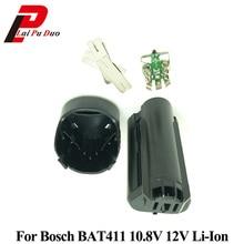 لبوش 10.8 فولت 12 فولت بطارية BAT411 البلاستيك (لا بطارية شحن) PCB لوحة دوائر كهربائية BAT411 بطارية ليثيوم أيون قذيفة