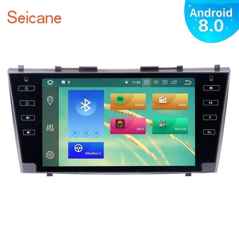 Seicane 9 Android 8.0 Radio HD Écran Tactile Voiture Stéréo Pour 2007 2008 2009 2010 2011 Toyota Camry Tête Unité GPS Bluetooth WIFI