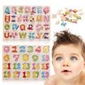 Rompecabezas para niños Juguetes de Aprendizaje Viaje Ascensor y Aprender ABC Plástico 123 Rompecabezas Niños Juguete Iniciación Entrega Rápida