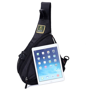 Image 5 - Waterproof Nylon Men Single Shoulder Cross Body Bag Military Travel Sling Rucksack Chest Back Pack Messenger Bags High Quality