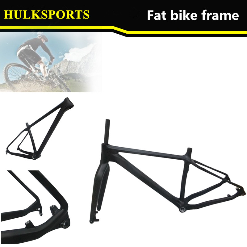 New Design Carbon Fat Bike Frame, Fat Bike Frame Carbon, Carbon Fat ...