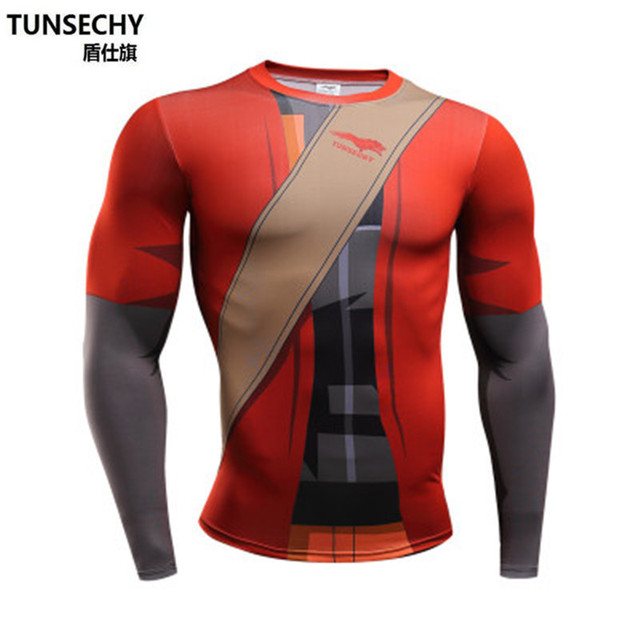 New Arrival Naruto Long Sleeve Fitness T-shirt