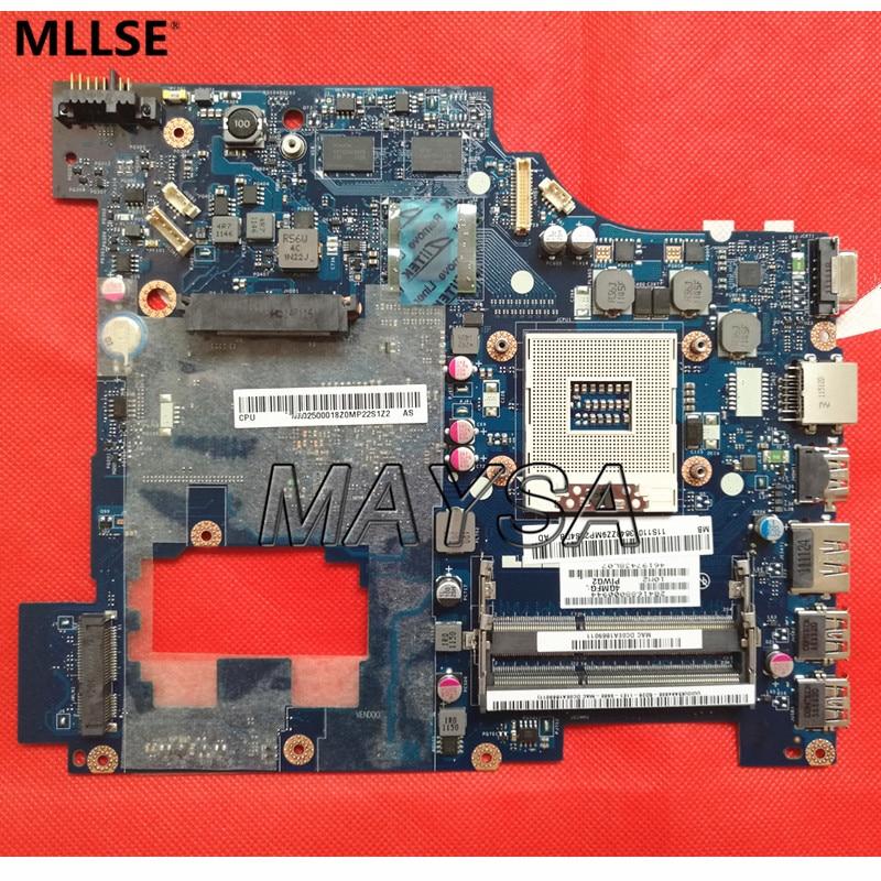PIWG2 LA-6753P REV 1.0 Системы подходят доски для Lenovo G570 Материнская плата ноутбука HM65 Чипсет, с интерфейсом HDMI