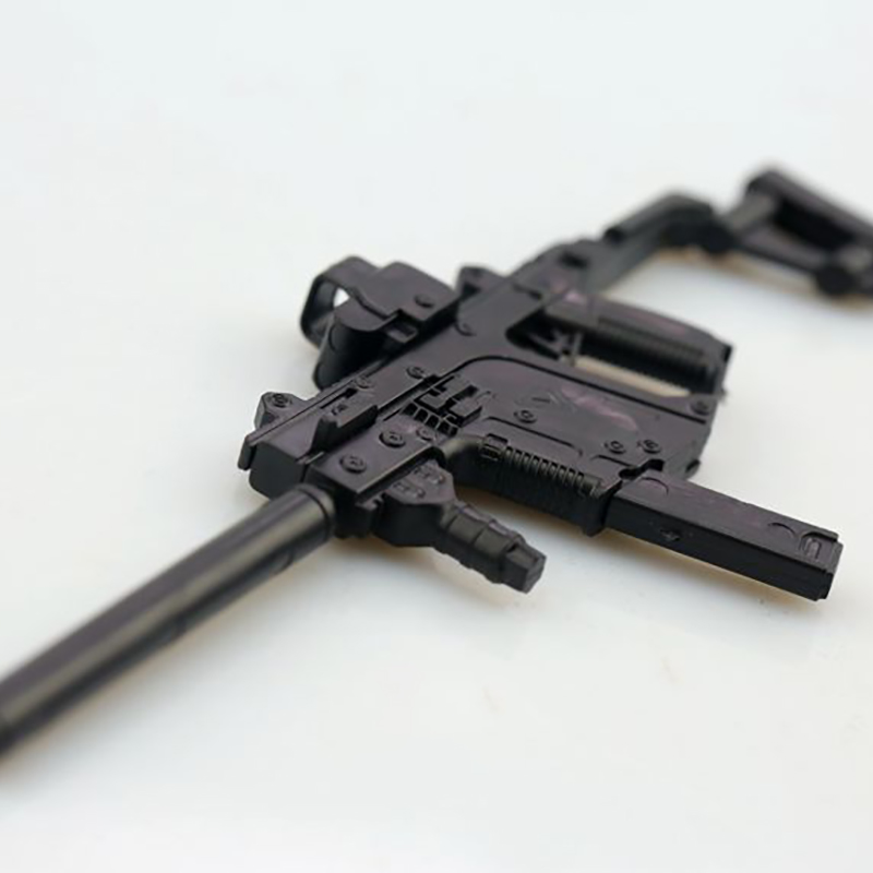 1 6 Scale Accessories Soldier 4D Assembly Rifle Submachine Gun Model KRISS Vector For 12 Inch Soldier Action Figure Doll Toys in Action Toy Figures from Toys Hobbies