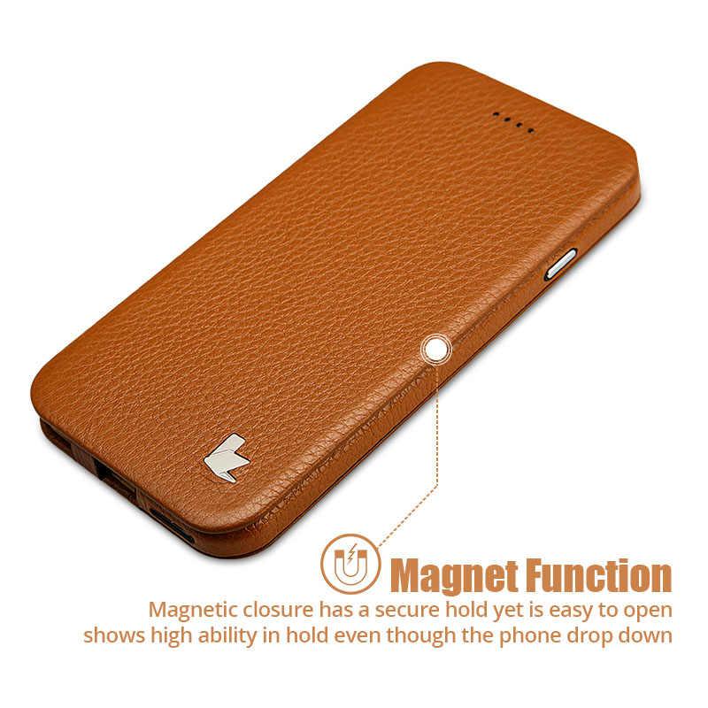 """Jison ケーススマートカバー iphone 6 6 S カバーケース s 本革の高級フォリオのためのフリップ電話ケース apple の iphone 6 s 6 4.7 """"Coque"""