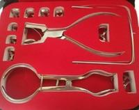 1 Set Dental Rubber Dam Perforator Puncher Teeth Care Pliers Dentist Lab Device Instrument Equipment