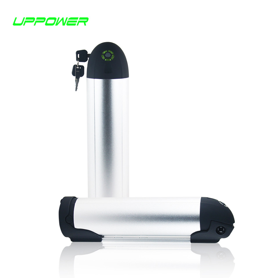 US EU AU Free Tax Electric Bike battery 36V 10.4Ah water bottle Lithiuim ion battery pack for 36V 250W 8fun/Bafang BBS01 motor us eu free tax down tube lithium ion e bike battery 36v 8 7ah water bottle ncr power cells ebike battery with bottle holder