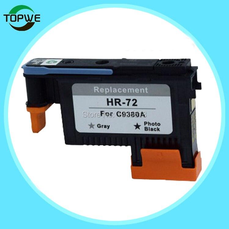 C9380A printer head for HP Designjet T1100 T790 T770 T610 T620 T1200 T1120 T2300 gray + photo black color