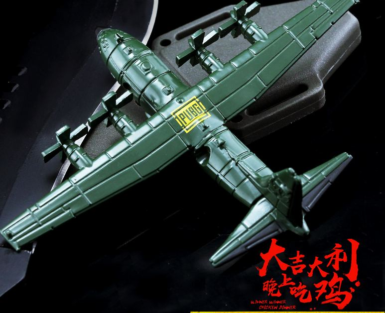 10cm PUBG Lockheed C-130 Hercules Model  Action Figure C130 Alloy Model Transport Aircraft PUBG Toys Dropshipping