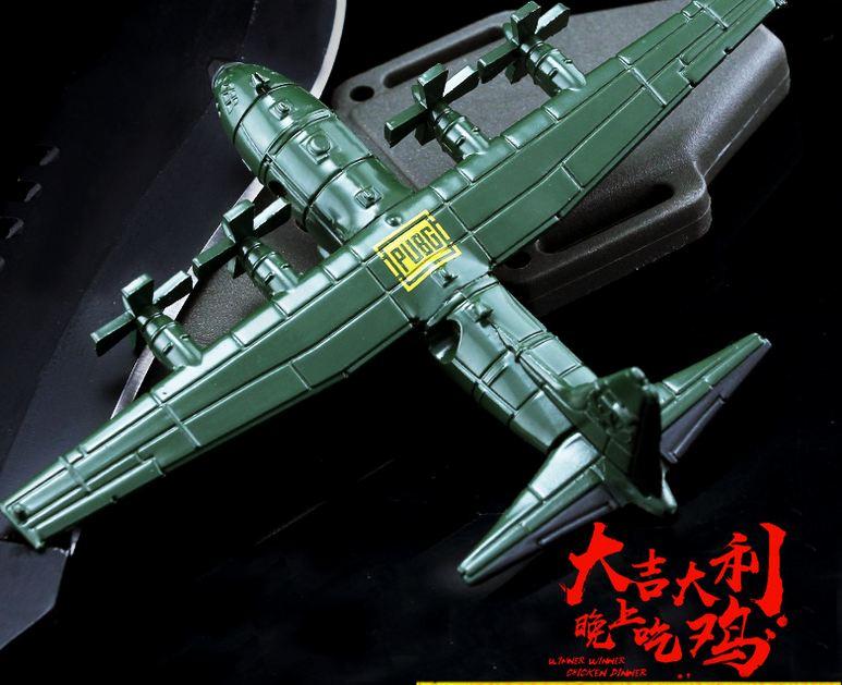 10cm PUBG Lockheed C-130 Hercules Model  Action Figure C130 Alloy Model Transport Aircraft PUBG Toys Dropshipping