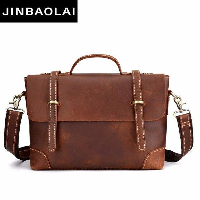 da8acdd55c9f New Fashion Cow Genuine Leather Crossbody Bag For Men Shoulder Bags  Business Men's Briefcase Handbags High Quality Messenger Bag