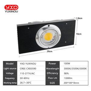Image 4 - CREE CXB3590 100 W COB светодиодный свет для выращивания полного спектра samsung LM561C S6 Светодиодная лампа для внутреннего подсветка для рассады