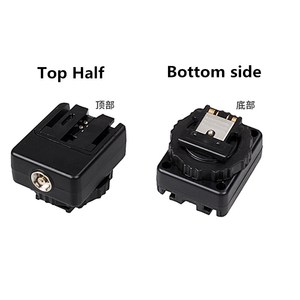 Hot Shoe Adapter Converter as ADP-MAA for Sony Old Flash to MI Hot shoe Camera A9 A7 III NEX6 A6500 A6300 A6000 A58 A99 A77 II(China)