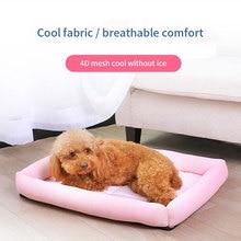 Kennel summer cool nest Bichon Teddy dog medium pet cat Biting waterproof supplies Cushion Sleeping Cooling  Mat