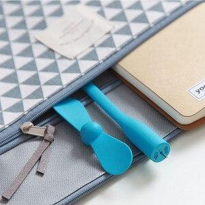 Image 4 - Oryginalny przenośny wentylator USB Xiaomi Mijia elastyczny wentylator USB do laptopa Power Bank elastyczny wentylator do laptopa