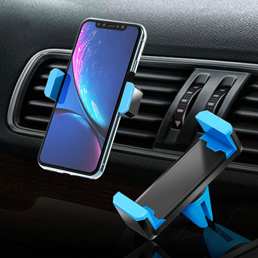 Hisomone Universal Car Phone Holder Stand Air Vent Mount Holder 360 Degreen For Phone Support 4-6 Inch Holder Stand In Car