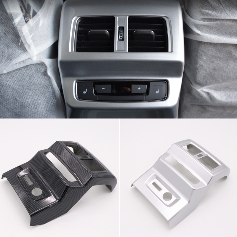 For Audi Q5 2018 ABS Plastic Interior Armrest Box Rear Air