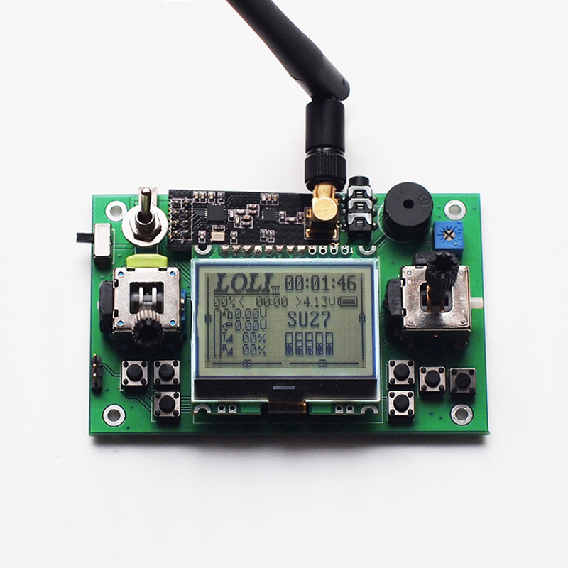 Mini 2.4G 6 Channel Remote Control Module 2400-2540mhz 100mW 100mA 3.5v-5V Transmitter For RC Car/Boat/Tank/Robot/Aircraft DIY