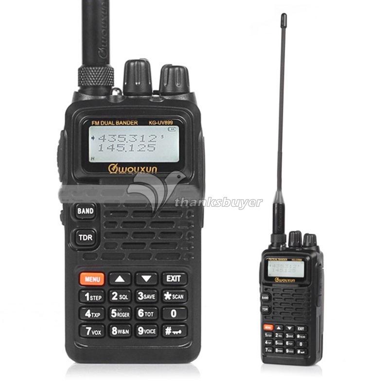 цена WOUXUN KG-UV899 Waterproof Walkie Talkie Multi-Band VHF UHF FM Radio HAM Transceiver онлайн в 2017 году