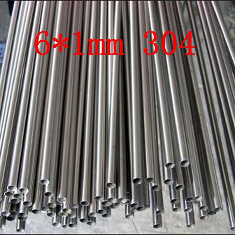 6*1mm Authentic 304 SS Stainless Steel Bright Capillary Tube,small Pipe,customized